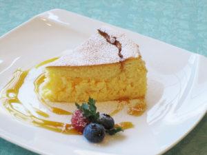 Cheese souffle cake