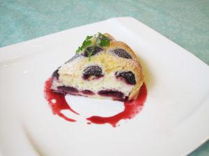 American cherry tart